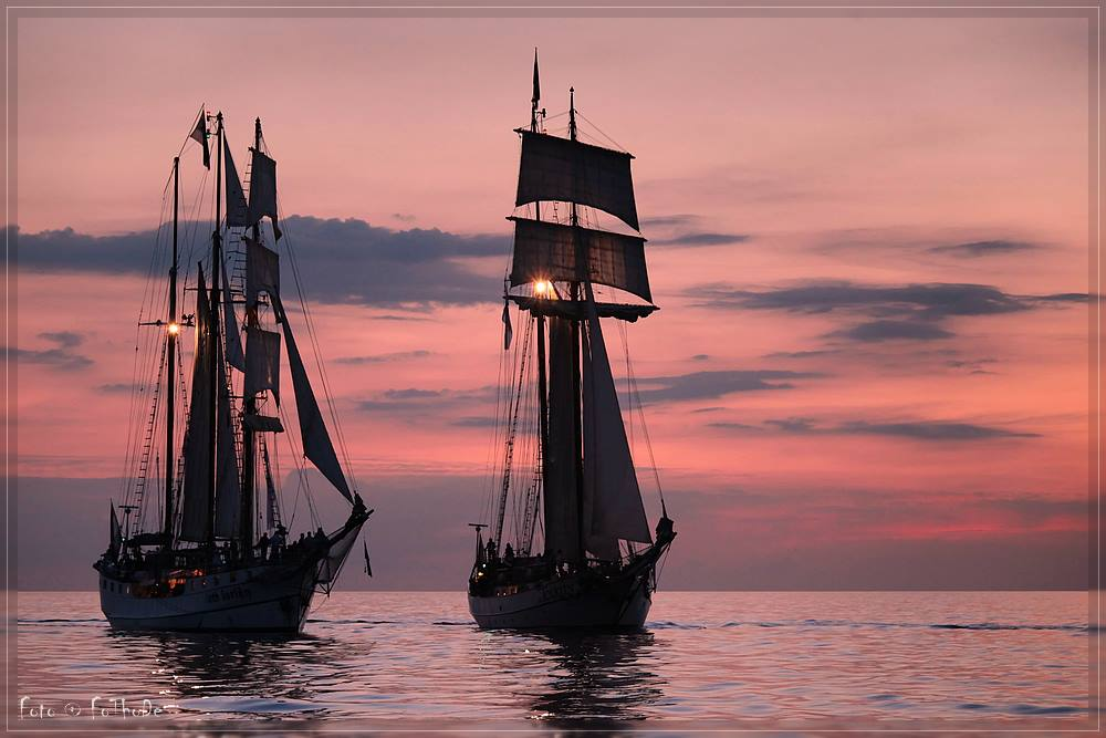 Sail Sunset von Thomas Deter
