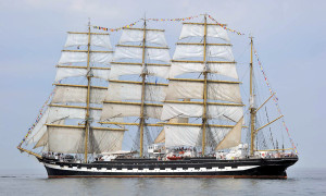 Segler auf der 23. Hanse Sail 2013. Foto: Joachim Kloock