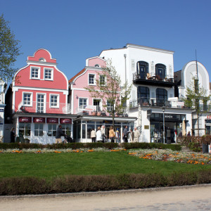 Am Alten Strom in Warnemünde
