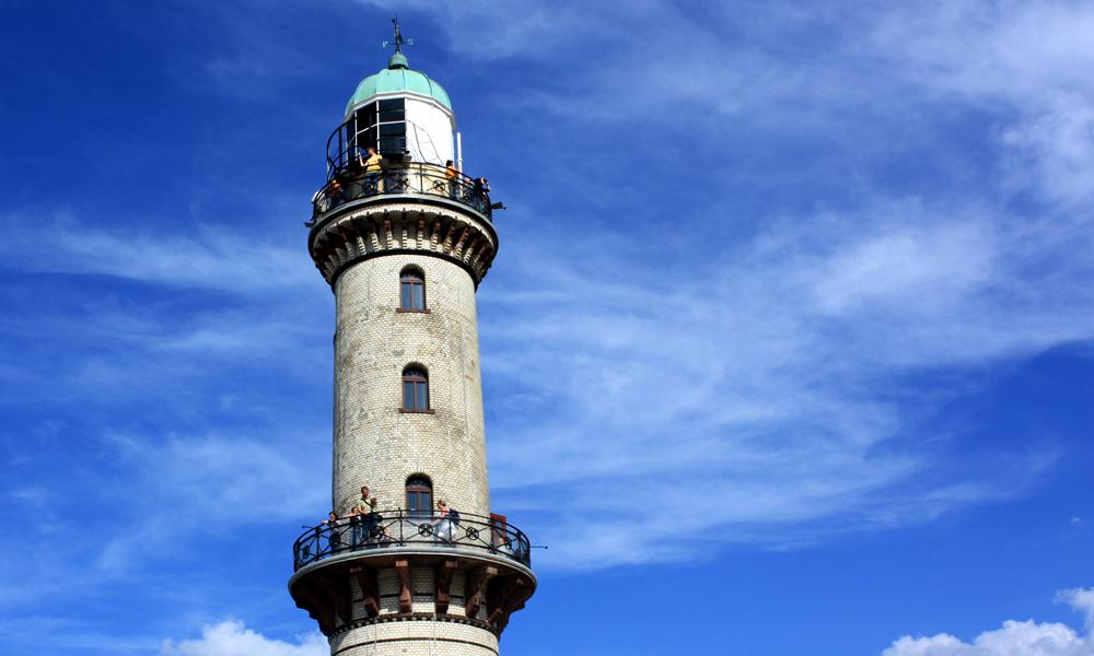 Leuchtturm Warnemünde. Foto: Martin Schuster