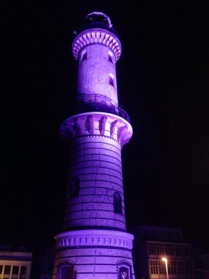 Probe für Leuchtturm in Flammen 2014. Foto: Swen Neugebauer