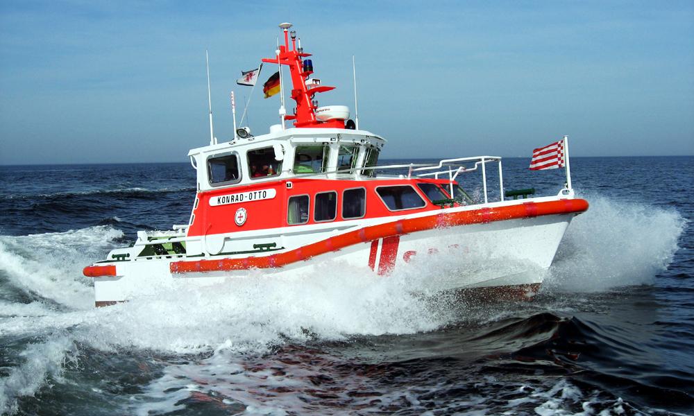 Seenotrettungsboot KONRAD-OTTO der Freiwilligen-Station Kühlungsborn der DGzRS. Foto: DGzRS/Die Seenotretter