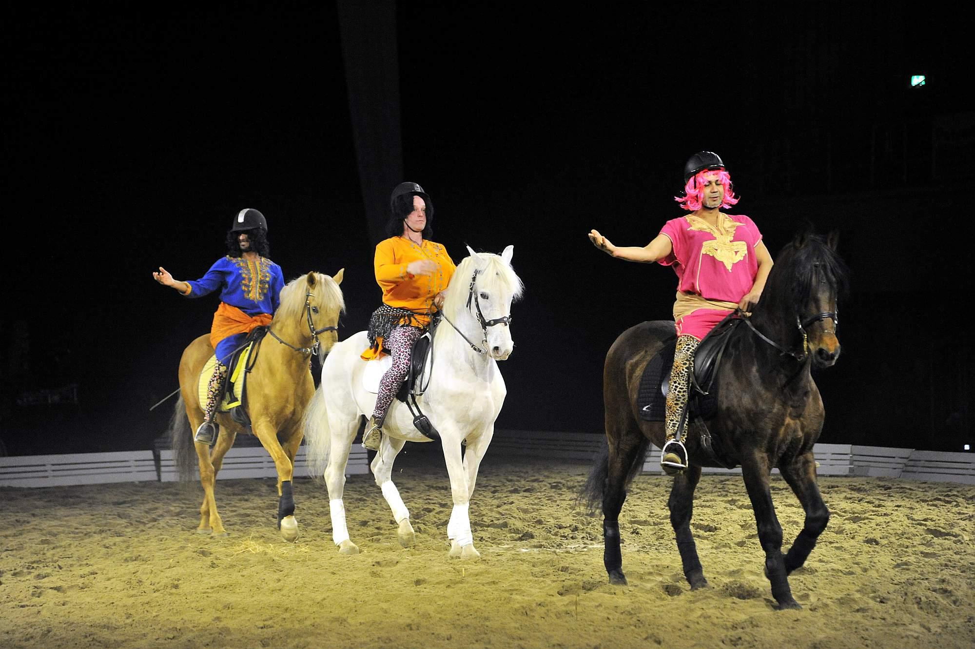 The Royal Horse Gala in der Stadthalle Rostock. Foto: Joachim Kloock