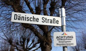 Dänische Straße in Warnemünde