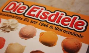 Hausgemachtes Eis seit 1946 in Warnemünde