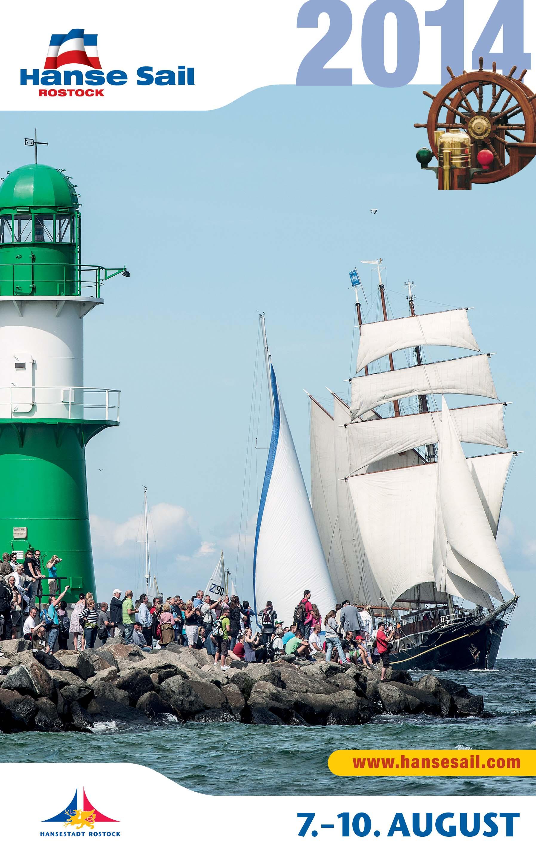 Kalender macht Lust auf 24. Hanse Sail in Rostock