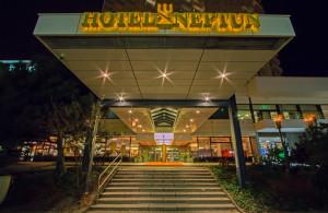 Hotel Neptun in Warnemünde. Foto: Jens Schröder