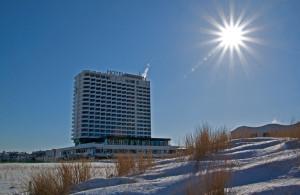 Hotel Neptun und Sonne in Warnemünde. Foto: Jens Schröder