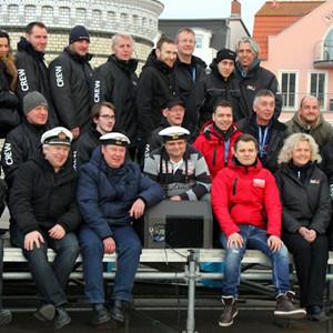 Crew von Leuchtturm in Flammen 2014. Foto: Andreas Mohr