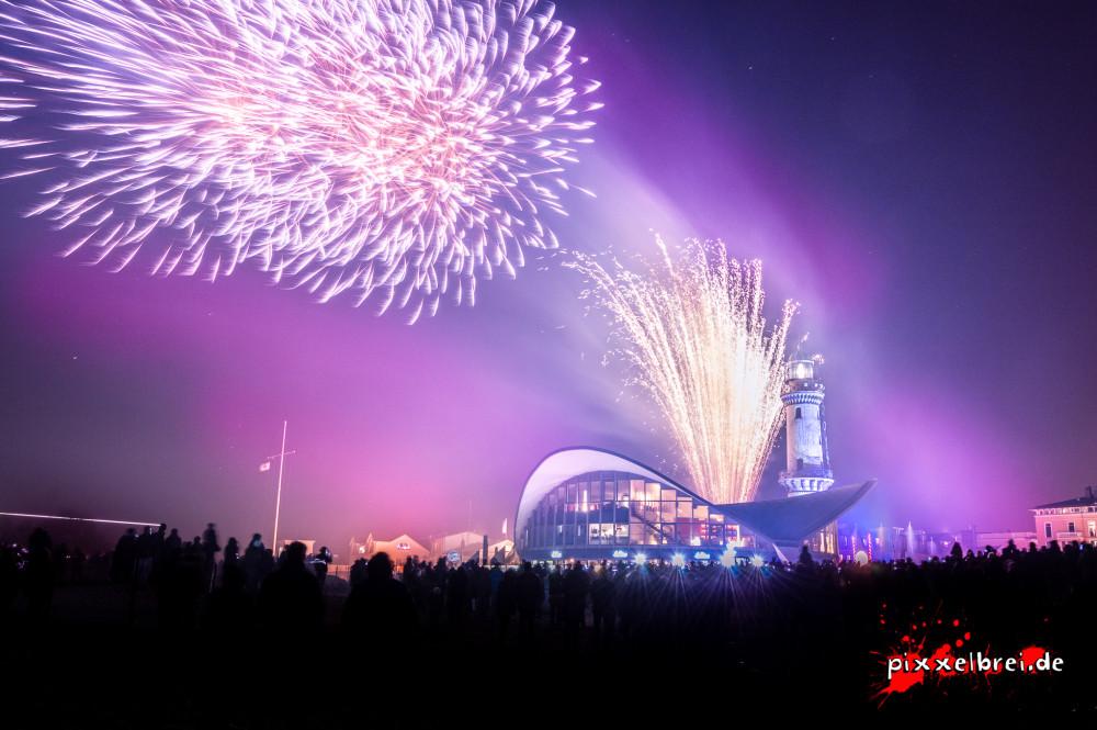 Leuchtturm in Flammen 2014 von Sebastian Müller