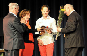 Seglerin Hannah Reinsberg-Anderssohn vom Warnemünder Segel-Club. Foto: Joachim Kloock
