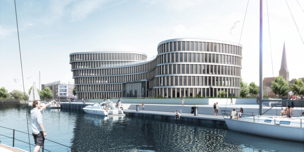AIDA Home in Rostock soll im Sommer 2014 bezogen werden. Foto: AIDA Cruises