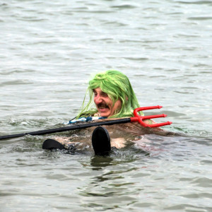 Fasching der Eisbader vom Rostocker Seehunde e.V. in Warnemünde. Foto: Jens Schröder