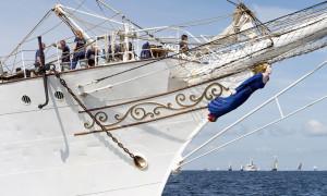 Christian Radich erwies sich auf der Hanse Sail als wahrer Besuchermagnet. Foto: Hanse Sail Rostock