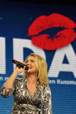 Jane Comerford singt für AIDA. Foto: AIDA Cruises