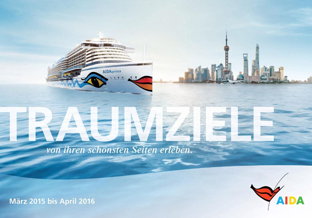Neuer AIDA Katalog 2015/2016 ist da. Foto: AIDA Cruises