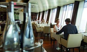 Gault Millau empfiehlt Gourmet-Restaurant Rossini auf AIDAstella. Foto: AIDA Cruise