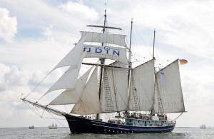 Der Rostocker Dreimaster Santa Barbara Anna. Foto: Archiv Hanse Sail Rostock