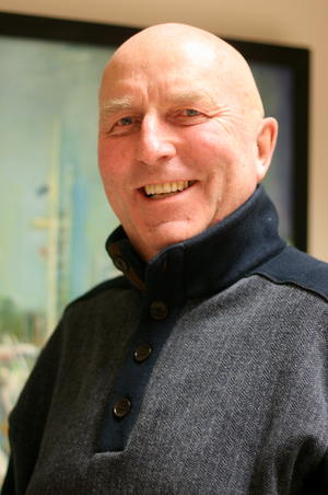 Hans-Jürgen Bohn (64) ist ab sofort amtierender Vorsitzender des Warnemünder Segel-Clubs. Foto: Gesine Schuer