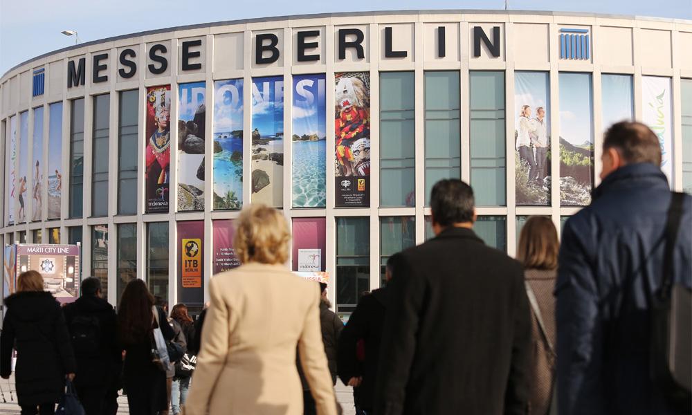 ITB Berlin auf dem Messegelände in Berlin. Foto: ITB Berlin