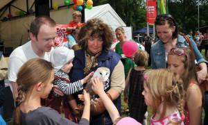 Großes Familien-Frühlingsfest im Zoo Rostock. Foto: Joachim Kloock