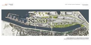 Funktionsplan Mittelmole Warnemünde (Stand: 24.02.2014). Herausgegeben vom Amt für Stadtentwicklung, Stadtplanung und Wirtschaft