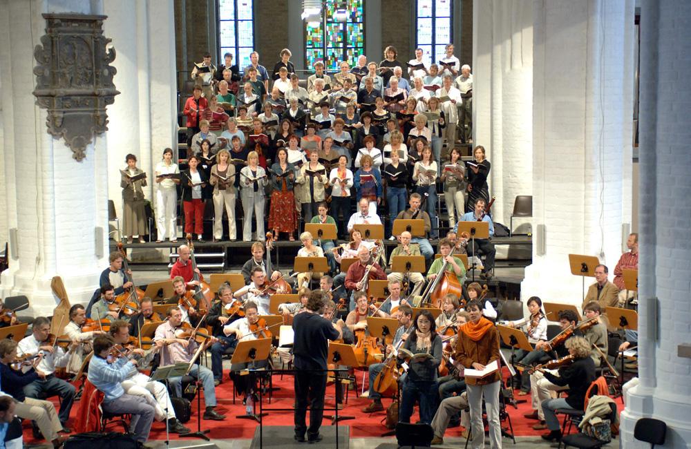 Konzert in der Nikolaikirche in Rostock. Foto: Joachim Kloock