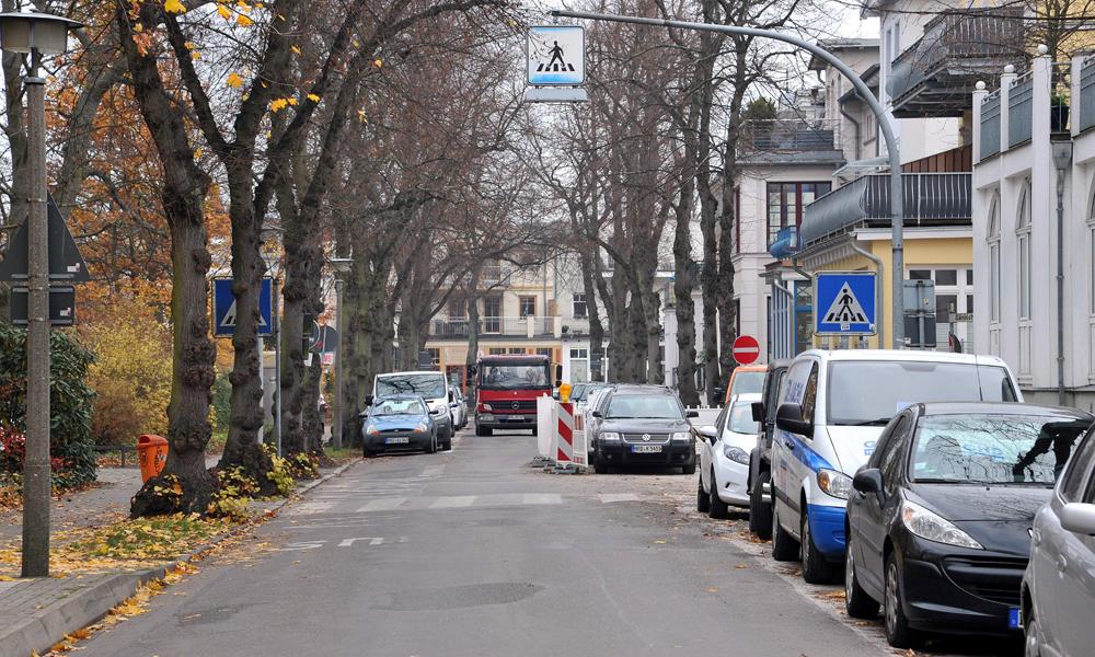 Wachtlerstraße in Warnemünde. Foto: Joachim Kloock