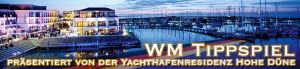 Das WM-Tippspiel 2014 von Wmnde.de wird von der Yachthafenresidenz Hohe Düne präsentiert