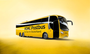 Der ADAC Postbus fährt auch Rostock und Warnemünde an