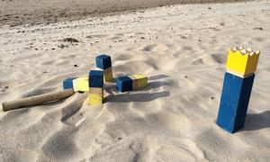 Beachkubb am Strand von Warnemünde. Foto: Klaus Riedel