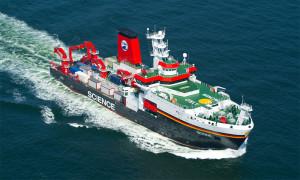 Forschungsschiff Sonne. Foto: Neptun Werft