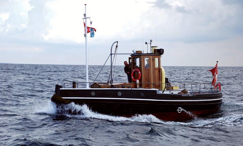 Der dänische Schlepper Nakskov Havn 1 ist das 200. Teilnehmerschiff der Hanse Sail 2014. Foto: Archiv Nakskov Havn 1
