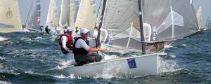 Hochklassiger Segelsport auf der Warnemünder Woche. Foto: Pepe Hartmann