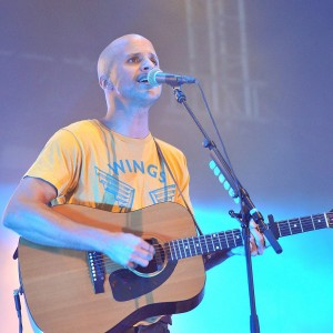 Milow bei N-Joy The Beach in Warnemünde. Foto: Joachim Kloock