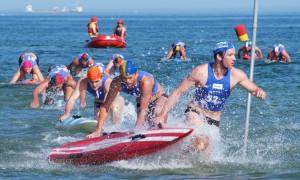 DLRG Cup: Raus aus dem Wasser. Foto: DLRG