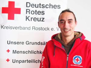 Manuel Brumme, Koordinator der DRK-Wasserwacht in Warnemünde und Markgrafenheide. Foto: K. Griesert / DRK