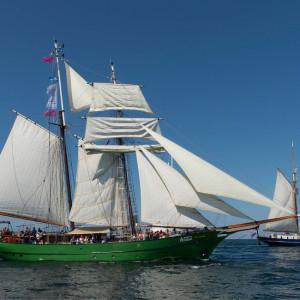 Avatar bei der 24. Hanse Sail 2014 vor Warnemünde. Foto: Lutz Zimmermann / Hanse Sail Rostock