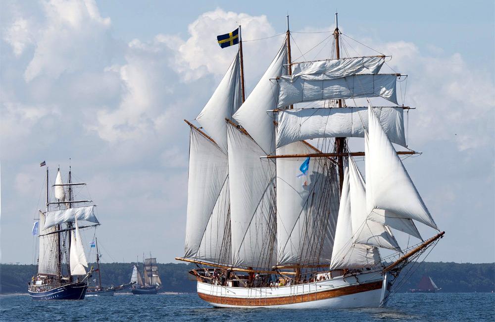Vega Gamleby bei der 24. Hanse Sail 2014 vor Warnemünde. Foto: Lutz Zimmermann / Hanse Sail Rostock