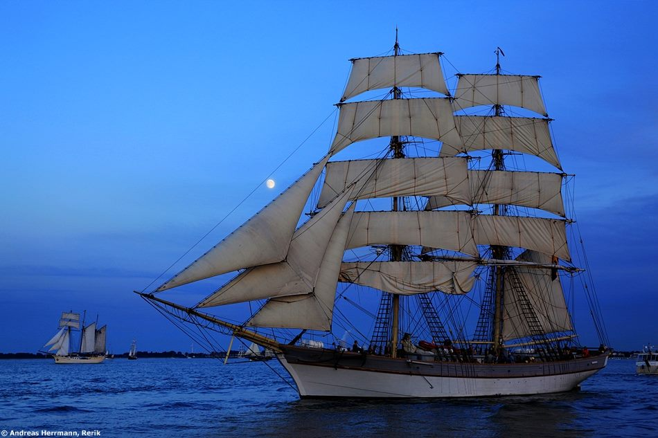 Foto zur 24. Hanse Sail 2014 von Andreas Herrmann