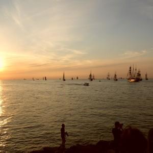 Foto zur 24. Hanse Sail 2014 von Jens Kaufmann