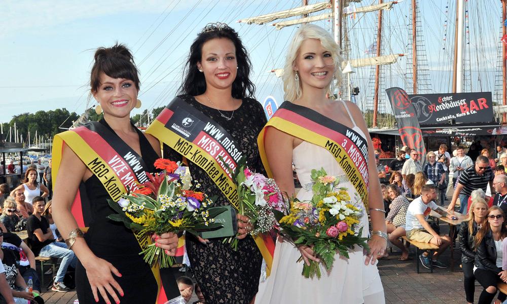 Wahl zur Miss Hanse Sail 2014. Foto: Joachim Kloock