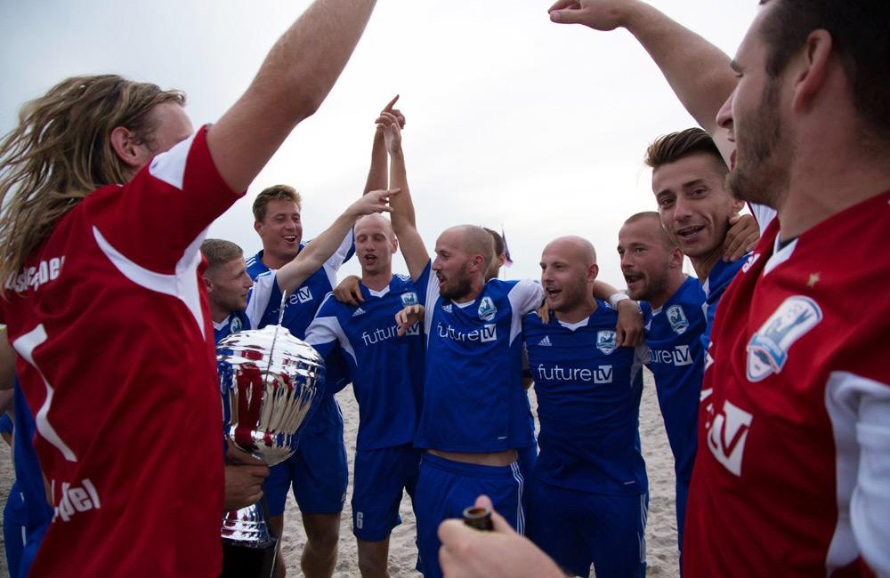 Zweifacher Liga-Sieger: Rostocker Robben. Foto: Baltic Foto