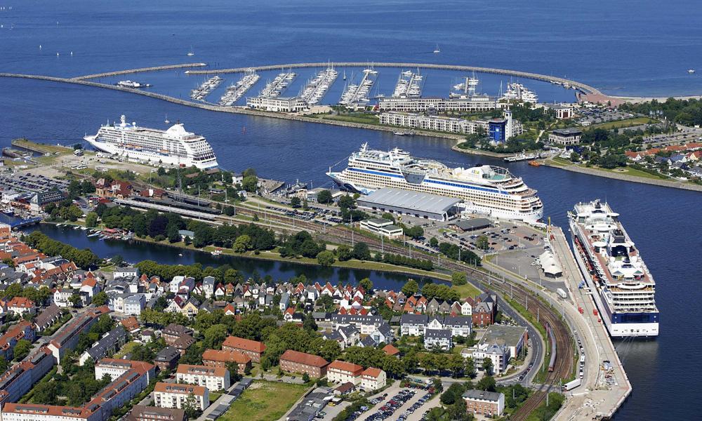Kreuzfahrthafen Warnemünde. Foto: Rostock Port