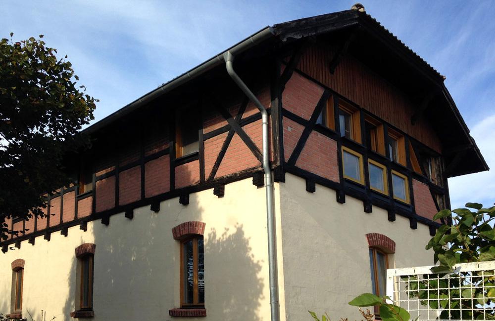 Wohnhaus auf der Bahnhofshalbinsel in Warnemünde
