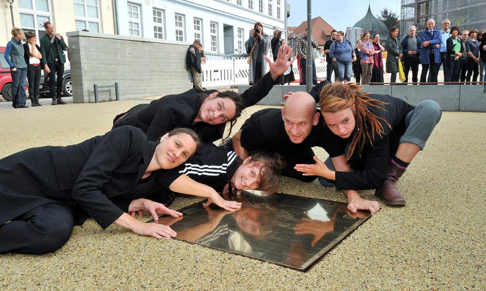 Platz am Wendländer Schilde in der Rostocker Altstadt. Foto: Joachim Kloock