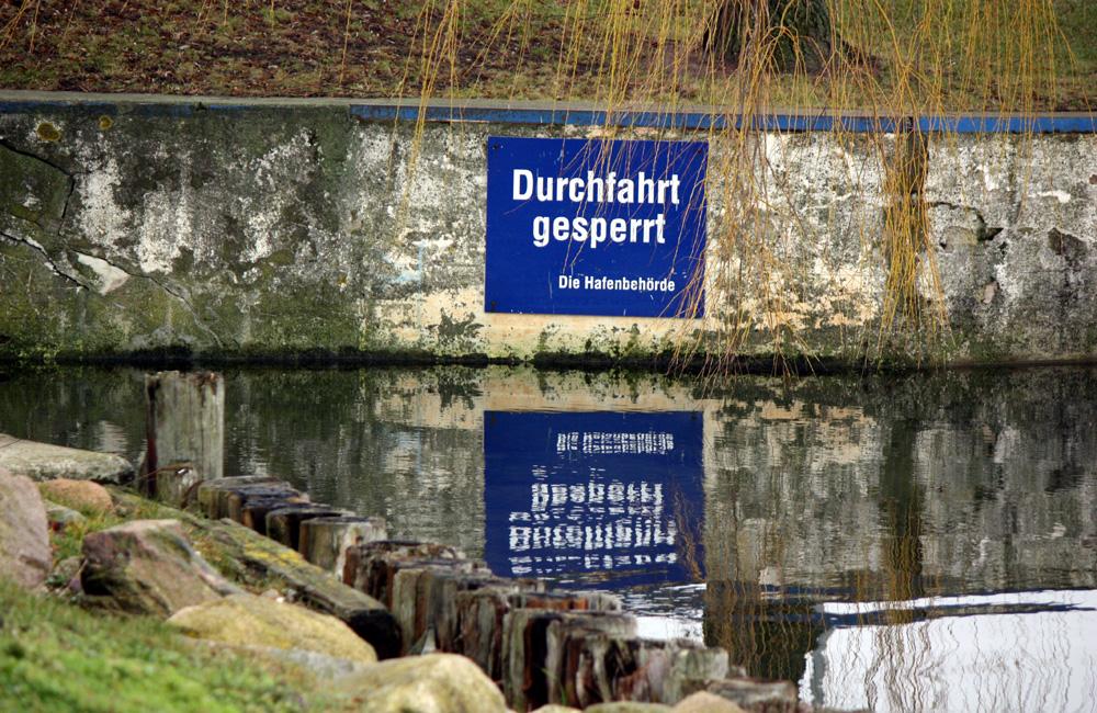 Stromgrabenbrücke am südlichen Alten Strom in Warnemünde. Foto: Martin Schuster