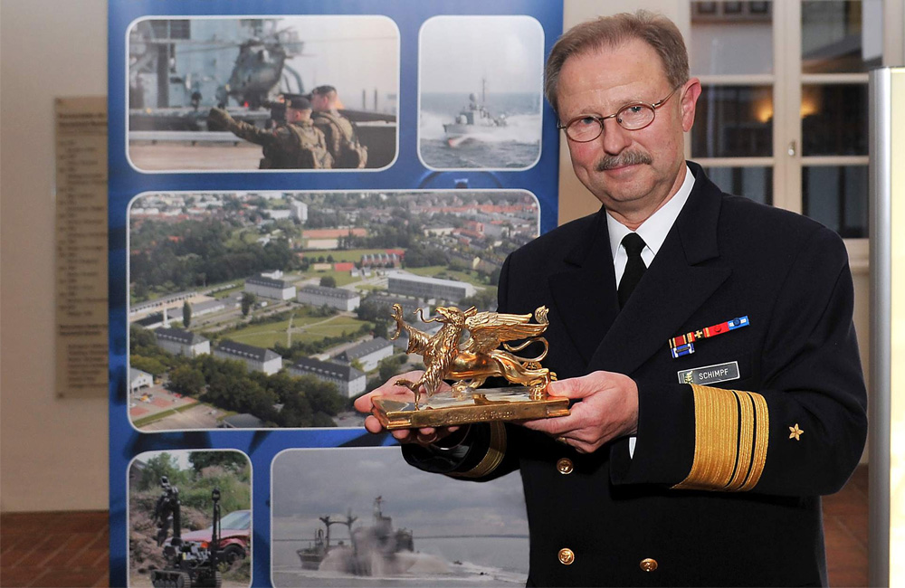 Vizeadmiral Axel Schimpf. Foto: Joachim Kloock