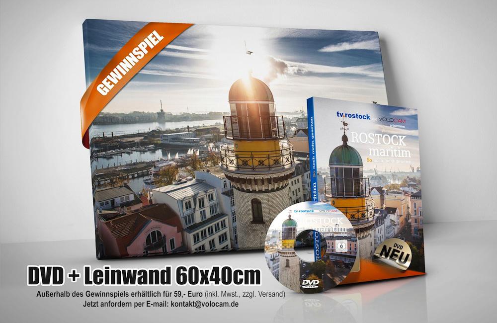 DVD + Leinwand: Rostock Maritim – So noch nicht gesehen