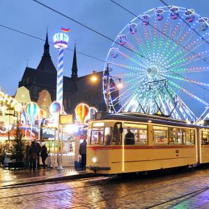 Weihnachtsmarkt In Rostock.Historische Sonderfahrten Zum Weihnachtsmarkt Wmnde De